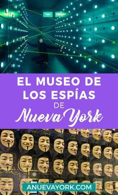 Visitar Spyscape, el museo de los espías de #NuevaYork. Time Travel, Places To Travel, New York City Travel, Travel Wall, Gap Year, Living In New York, Concrete Jungle, Travel Around The World, Travel Usa