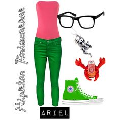"""""""Hipster Ariel"""" by malabaster on Polyvore"""