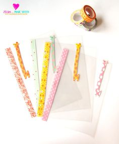 Cute Giraffe  A5 Clear Dividers for Filofax / by ZeldaMadeWithLove
