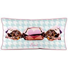 Coussin deco Bonbon rose- Bonjour mon coussin.pepdeco.com