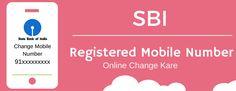 SBI Registered Mobile Number Online Change Kaise Kare?