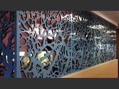 painel quadro mdf vazado p/parede divisória ambiente 1x35cm