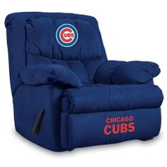 Use this Exclusive coupon code: PINFIVE to receive an additional 5% off the Chicago Cubs Home Team Recliner at SportsFansPlus.com
