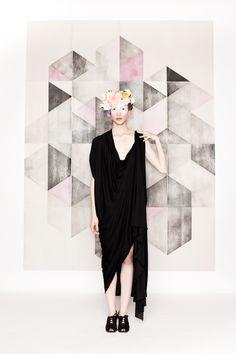 hair & makeup by Colleen O'Sullivan fashion designer: Annie Novotny / Frei Designs photographer: Jason Robinette model: Leslie Bembinster