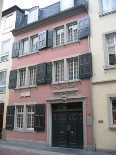Beethoven's Birthplace, Bonn Germany