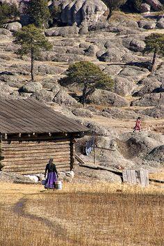 Raramuri (Tarahumara) home in Chihuahua, Mexico