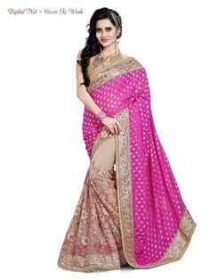 Bollywood Saree Sari New Pakistani Partywear Indian Wedding Ethnic Designer 1965…