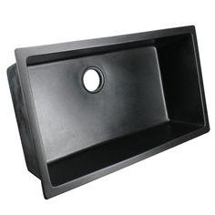 Lexicon platinum quartz composite 32 x 19 x 9 in d - Best caulk for undermount kitchen sink ...