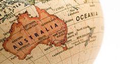 Old map of Australia- 1920 Century, Australia, Oceania) Moving To Australia, Australia Map, Visit Australia, Australia Continent, Roadtrip Australia, Australia Tattoo, Adventure Is Out There, Tasmania, Study Abroad