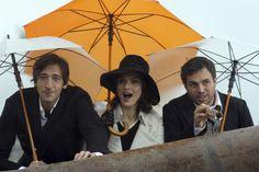 Adrien Brody, Rachel Weisz & Mark Ruffalo in The Brothers Bloom