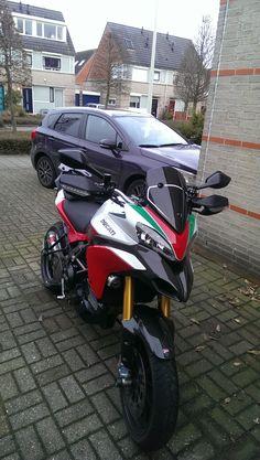 Ducati Multistrada 1200 S Tri Colore