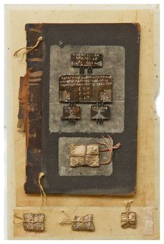 ⌼ Artistic Assemblages ⌼ Mixed Media, Journal, Shadow Box, Small Sculpture Collage Art - Irini Gonou