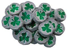 Foil Shamrocks - 1/2 lb. - Irish Snacks