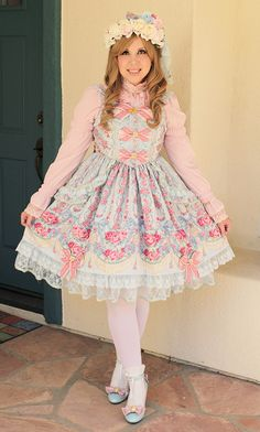 Lolita Fashion - Fairy Rose Princess Coord