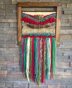 Un favorito personal de mi tienda Etsy https://www.etsy.com/es/listing/385429464/woven-wall-hanging