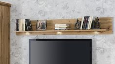 STROMBERG - Obývačková zostava, vyhotovenie: Dub wotan Flat Screen, Shelf, Living Room, Blood Plasma, Shelving, Flatscreen, Shelving Units, Home Living Room, Drawing Room