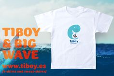 Wave friend. T-shirt children. T-shirt enfant. Camiseta niño.