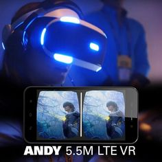 An awesome Virtual Reality pic! #YezzVR360: ANDY 5.5M LTE VR an Android phone aiming to broaden the already fast growing segment of VR users online. #VR #VR360 #VirtualReality #Revolution #Innovation #Technology #Speed #Design #Style #Wednesday #Awesome #Cool #YezzMobile #Android by yezzmobile check us out: http://bit.ly/1KyLetq