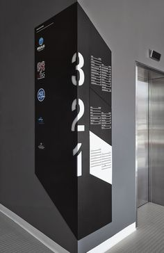 This is an example of how we would like to do our signage system. We would like to do it on the corners where we are able to show how the diversion of paths brings them to the respective places shown in the signage Directional Signage, Wayfinding Signs, Floor Signage, Environmental Graphic Design, Environmental Graphics, Navigation Design, Plexiglass, Displays, Information Design