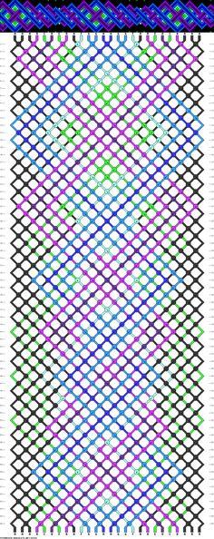 26 strings, 8 colors