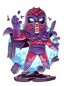 Drawing Marvel Comics Chibi Magneto Print — Derek Laufman - **Price is in US Dollars** Signed x Print on high quality gloss stock. Cartoon Cartoon, Drawing Cartoon Characters, Character Drawing, Comic Character, Cartoon Drawings, Marvel Comics, Chibi Marvel, Marvel Art, Marvel Heroes
