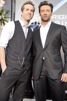 Hugh Jackman Shares a Hilarious Video Congratulating Ryan Reynolds on His Walk of Fame Star