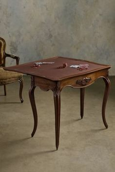 Table De Jeu   French Gaming Table, Antique Game Table, Vintage Game Table |