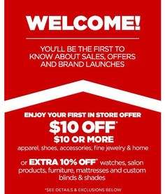 Great deals at JcPenney this weekend savings, deals, shopping, budgeting