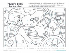 Philip and the Ethiopian Bible Activities on Sunday School Zone Preschool Bible Lessons, Bible Activities For Kids, Bible Lessons For Kids, Church Activities, Bible For Kids, Free Bible Coloring Pages, Coloring Pages For Kids, Kids Church Lessons, School Lessons