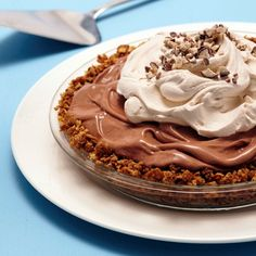 Malted Ice Cream Pie with Waffle Cone Crust recipe