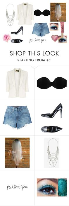 """""""I want this feeling forever"""" by fashion-rocks ❤ liked on Polyvore featuring Jolie Moi, Cosabella, Alexander Wang, Jil Sander, Express and Too Faced Cosmetics"""