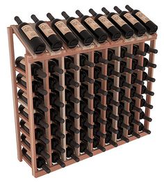 Unstained lead time is 2-3 days, whereas stained lead time is 2-3 weeks. Designed to make your best vintage the focal point of your cellar or store, nine of your best bottles are presented at 30º angles. Our wine cellar kits are constructed to industry-leading standards. Display top