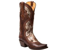 Lucchese Women's Boots | Averill | Ranch Hand in Dark Brown & Bronze #LuccheseBoots www.lucchese.com