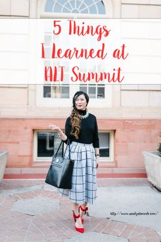 My Thursday outfit + 5 things I learned from ALT Summit Winter blogging conference
