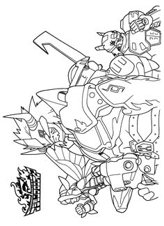 Free Digimon Coloring Page Pages 74 Printable
