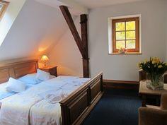 Lázně Lipová Penzion Kovárna - Penzion Kovárna Bed, Furniture, Home Decor, Decoration Home, Stream Bed, Room Decor, Home Furnishings, Beds, Home Interior Design