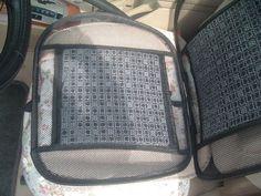 Simple Mesh Car Seat Cushion