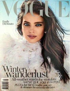 awesome Vogue Austrália Junho 2014 | Emily DiDonato por Benny Horne  [Capa]