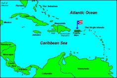 This is where Puerto Rico is, for those who doesn't know. #puertoRico #wherePRIs