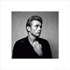 James Dean: Portrait Fine Art Print Poster