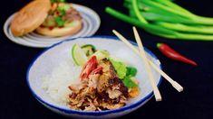 """Thai Green Curry Pulled Pork Wir haben von einer Kundin die Challenge bekommen, Pulled Pork im Airfryer zu machen aber das wäre ja nun ein bisschen zu einfach 😆 Nachdem wir irgendwann mal eine """"Thai Green Curry Bowl"""" gegessen hatten, wollten wir die immer mal wieder essen - also, warum nicht einfach im Airfryer selber"""