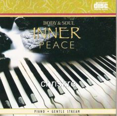 Inner Peace Piano Gentle Stream Instrumental Relaxation Spa Healing Music CD