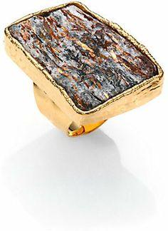 Nest Astrophyllite Ring