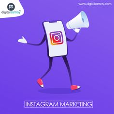 """Let Instagram shout out loud for your unique business"" Create higher reach through Instagram Marketing."