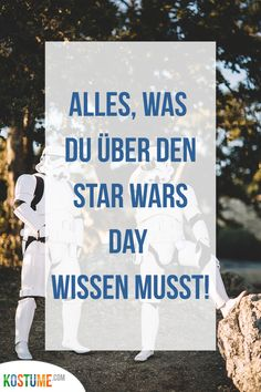 Wenn du ein absoluter Star Wars Fan bist, erwartest du mit Sicherheit schon voller Sehnsucht den Star Wars Day. An keinem anderen Tag wird die bekannte Filmreihe mehr gefeiert. Also schwing dich in dein Star Wars Kostüm und reise in eine ferne Galaxie – dafür eignet sich dieser Tag besonders gut! Wenn dir das alles noch nichts sagt und du jetzt neugierig geworden bist, helfen wir dir mit ein paar Fakten auf die Sprünge. Was genau der Star Wars Day ist und wann er stattfindet, erfährst du hier. Star Wars Party, Chewbacca, Blog, Trends, Cover, Movie, Galaxies, Longing For You, Safety