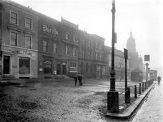 Stratford Broadway looking west, 1904 East End London, Old London, London History, Local History, Old Images, Old Photos, Stratford London, Newham, Bethnal Green