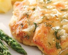 Lemon & Dill Chicken - 3 carbs 170 calories