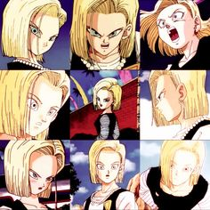 xlifeawakens: Android 18 Oh an Eighteen set, yay! That third picture though….*blubbering with tears*