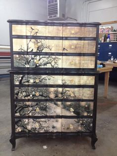 @suite Revivals by Tami, she repurposes old furniture into statement pieces.