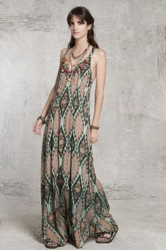 Vestido Ikat